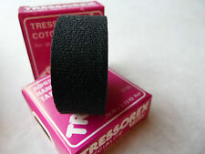 Tressorex Cloth Handlebar Tape Pair Black 2 Rolls Made Velox Vintage Bike NOS