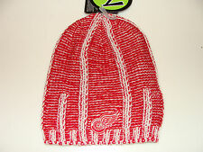 2012-13 Detroit Red Wings NHL Hockey Uncuffed Beanie Toque Hat Cap Zephyr