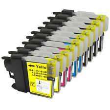 10 NON-OEM INK BROTHER LC-61 MFC-795CW MFC-990CW MFC-J220 MFC-J265w MFC-295CN