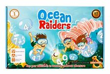 OCEAN RAIDERS addition board game for beginners STEM toy Maths resource for kids