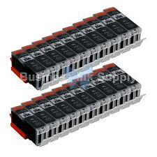 20 PIGMENT BLACK Canon PGI-250XL Compatible Ink Cartridge PGI-250 PGI-250XL BK