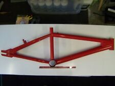 BMX BIKE FRAME RED VEE V  BRAKE SET UP SHOP SOILED BARGAIN