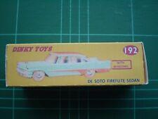 REPRO BOX DINKY n 192 de Soto Fireflite Sedan