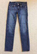 Women's American Eagle Super Stretch Skinny Jeans Size 0 Short