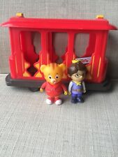 Daniel Tiger's Neighborhood Trolley Daniel & Prince Wednesday Figures Toys