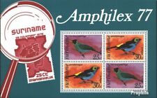 Suriname block19 (complete issue) unmounted mint / never hinged 1977 Birds