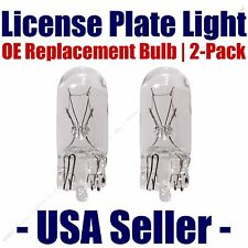 License Plate Bulb 2pk OE Replacement Fits - Listed Porsche Vehicles - 2825