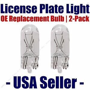 License Plate Bulb 2pk OE Replacement Fits - Listed Isuzu Vehicles - 2825