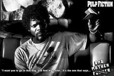 PULP FICTION ~ BAD MOTHER F***** WALLET 24x36 MOVIE POSTER Samuel Jackson