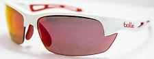 Bolle Bolt Sunglasses 12204 Red/White Frame