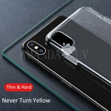 For iPhone X 10 Case Cover Apple Transparent Clear Hard Ultra Thin 0.3mm Skin