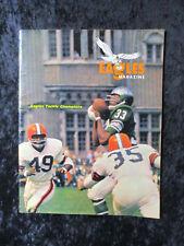 Vintage October 3, 1965 Philadelphia Eagles vs Cleveland Browns Program 1444