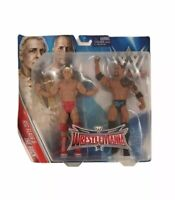 Ric Flair & The Rock Wrestlemania Pack Series 32 Wrestling Figure WWE WWF