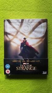 Doctor Dr Strange Zavvi Lenticular Steelbook 3D BluRay Marvel Avengers NEU OVP