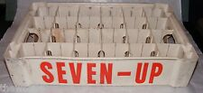 Vintage 7UP Plastic Soda Crate