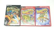Rollercoaster Tycoon 2 & 3 GOLD Edition, Plus Expansion Packs