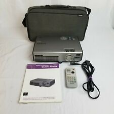 Epson PowerLite EMP-760c LCD projector with 607 Lamp Hours Power cord & remote
