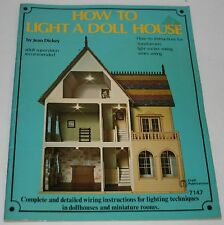 How To Light A Doll House #7147 Instructions Vintage 1975