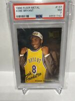 1996-97 Fleet Metal Fresh Foundation Kobe Bryant RC PSA 7 HOF Rookie