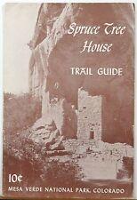 1962 Spruce Tree House Trail Guide Mesa Verde National Park Colorado brochure b