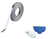 5mm Chrome Detailing Foil Tape Car Pin Stripe Coachline With Cutter