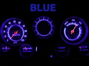 Gauge Cluster LED Dashboard Bulb Blue For Chevy 67 72 C/K C10 - C30 Truck