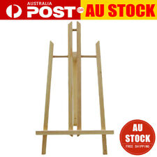 Natural Wood Easel Artist Art Display Drawing Painting Shop Tripod Stand 40CM AU