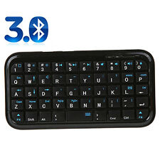 Fashion Black Slim Mini Bluetooth Wireless Keyboard For Tablet PC Cellphone