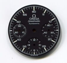Omega SpeedMaster Matt Black with white letters and numbers  NOS Genuine