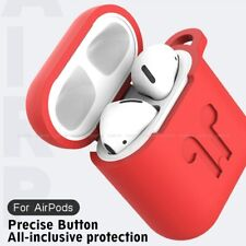 Apple AirPods with Charging Case Silicone TPU Earphone 1 Generation Airpods 1 2