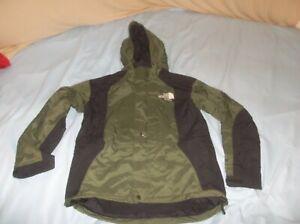 The North Face Mountain Light Parka Gore-tex Jacket Coat Green TNF Medium READ