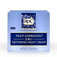 RoC Multi Correxion 5 in 1 Restoring Night Cream Anti-Aging 1.7oz LARGE SIZE