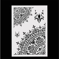 Mandala Crown Design Stencils Scrapbooking DIY Hand Craft Making Accessories