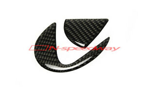 For(06-13 Lexus IS 250 350)(06~11 GS) RX Carbon Fiber Trunk Emblem Decal Filler