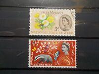 GB 1963 Commemorative Stamps~Nature~Phosphor~Fine Used Set~UK Seller