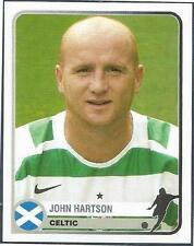 PANINI 1955-2005 CHAMPIONS OF EUROPE- #126-CELTIC & WALES-JOHN HARTSON