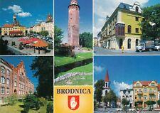 Carte poste OLD POSTCARD POLOGNE POLAND POLSKA BRODNICA écrite