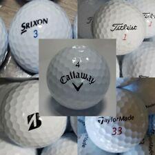 100 Assorted Golf balls Bridgestone, Callaway, Titleis,TaylorM  - White AAAA/AAA