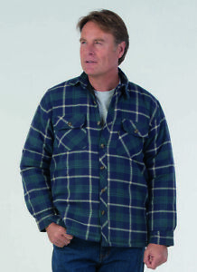 Mens Totnes Padded Country Check Collared Shirt