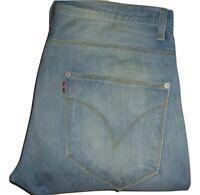 Mens LEVI'S ENGINEERED TWISTED Light Blue Denim Jeans W33 L32