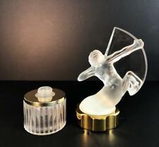 New listing Lalique crystal Factice Mascotte Sagittarius perfume bottle empty 1999 Centaur