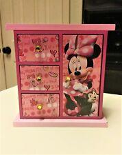 Disney Minnie Mouse Armoire Jewelry Box