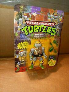 TMNT Vintage Teenage Mutant Ninja Turtles Metalhead Pop Up Display RARE MOC MIB