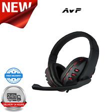 AvP G2 Headphone With Mic Red