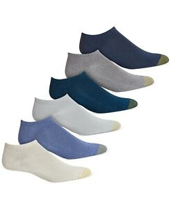 Gold Toe Women's 6-Pack Ultra Soft Liner Socks Ankle Reinforced Toe One Size