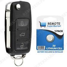 Replacement for Volkswagen 2011-2016 GTI Jetta Remote Car Entry Fob Flip Key