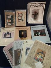 Tole Painting Designs Folk Art Patterns Wood Decor Decorative Art Book Lot 10