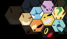 Pokemon GO Eevee Evolutions GENERATIONS Custom Playmat #26 FREE SHIPPING
