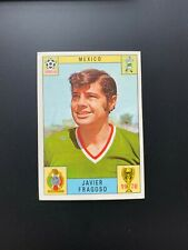 JAVIER FRAGOSO - PANINI MEXICO 70 WORLD CUP UNUSED RED/BLACK CARD 1970