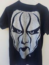 WWE Wrestling Black Rare  Sting  T-Shirt - Licensed Pro Wrestling WWF WCW crow S